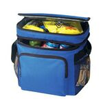 Custom Deluxe Polyester Insulated Cooler Bag Lunch Bag