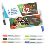 Custom Plastic Big Clip Banner Pen