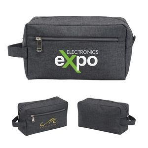 Heathered Travel Toiletry Bag