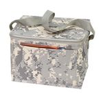 Custom Poly 6 Pack Cooler Digital Camo Lunch Bag