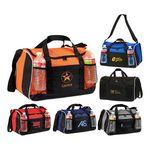 Custom Poly Multi-Pocket Duffel Bag