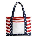 Custom Stars and Stripes Tote Bag