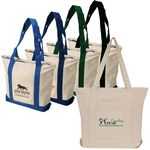 Custom Cotton Canvas Heavy Duty Boat Tote Bag