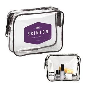 Clear Travel Cosmetic Bag
