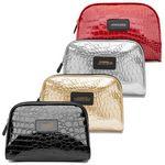 Custom Croc Print Accessory Bag