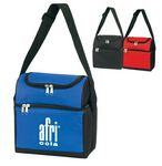 Custom Poly Insulated Compartments Lunch Bag