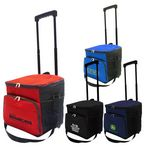 Custom 36 Can Collapsible Rolling Cooler Bag