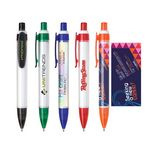Custom Click Action Plastic Tube Ballpoint Pen