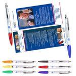 Custom Rainbow Banner Pen