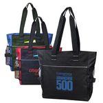 Custom Poly Zipper Tote Bag