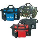 Custom Ttuch Polyester Sports Gym Travel Duffel Bag