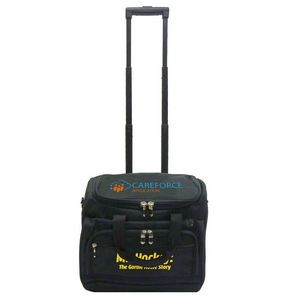 Heavy Duty Rolling Briefcase Laptop Bag