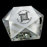 Custom Crystal Star Paperweight