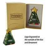 Custom A Christmas To Remember Ceramic 3d Tree Ornament