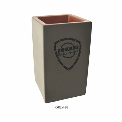 Copper Concrete Pencil Holder