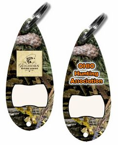 camo lure bottle opener keychain c bokc ideastage promotional products. Black Bedroom Furniture Sets. Home Design Ideas