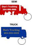 Custom Truck Keychain