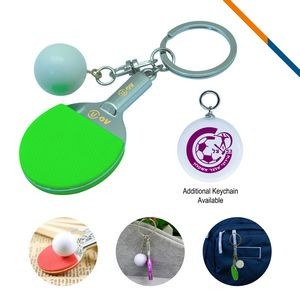 Table Tennis Keychain-Green