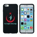 Custom Silicone iPhone 6 Plus Case - Black