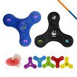 Custom Fancy Fidget Spinner Orange