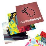 Custom Deluxe Microfiber Cloths - 8x6 inch