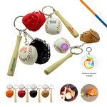Custom Baseball Glove Keychain
