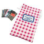 Custom Premium Microfiber Sunglass bag - 3.5 x 7 inch