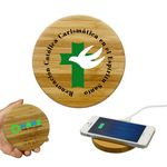 Custom Timber Wireless Charger