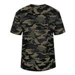 Custom Badger Sport Camo Tee Shirt