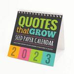 Custom Premium Plantable Eco Calendar - Quotes That Grow