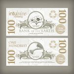 Custom $100 Seed Paper Bills