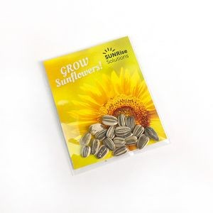 Single Sided Sunflower Seed Packet