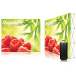 Custom 10 ft. Ready Pop Fabric Display - 8'h Large Straight Single-Sided Graphic Package (No Endcaps)