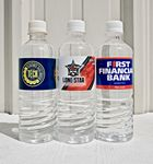 Custom 16.9oz (500ml) Bottled Water with Full Color Custom Label