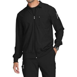 Cherokee® Infinity® Men's Zip Front Warm-Up Scrub Jacket