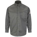 Custom Bulwark Men's 6.5 Oz. Plaid Dress Shirt