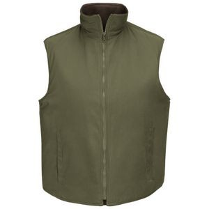 Horace Small® Earth Green Unisex Recycled Fleece Vest
