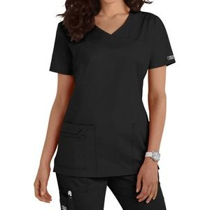 Cherokee® Women's Core Stretch Shaped V-neck Scrub Top