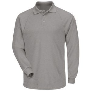 Bulwark® Men's Flame Resistant Long Sleeve Classic Polo Shirt