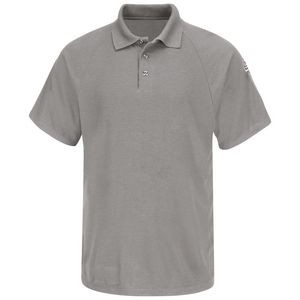 Bulwark® Men's Flame Resistant Short Sleeve Classic Polo Shirt