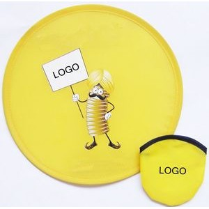 Foldable Flying Disc With Pouch