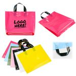 Custom Plastic Grocery Tote Bag
