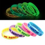 Custom Glow in Dark Silicone Bracelet
