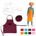 Custom Kids Aprons W/ Chef Hats