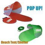 Custom Portable Pop Up Beach Sun Shade & Mat