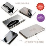 Custom Stainless Steel Business Cards Case