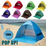 Custom Instant Pop Up Beach Tent/Shelter