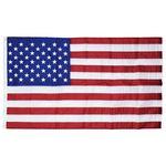 Custom 2' x 3' U.S. Outdoor Nylon Flag with Heading and Grommets