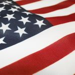 Custom 3' x 5' American Flag Printed Knitted Polyester