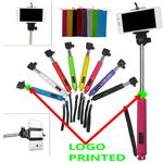 Custom Extendable Double System Wireless Monopod Stick with Build in Bluetooth